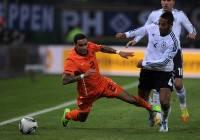 Gregory van der Wiel con la maglia della nazionale olandese (Getty Images)