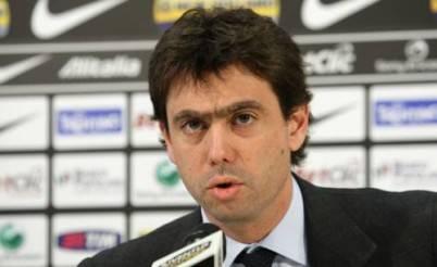 Andrea Agnelli. presidente bianconero