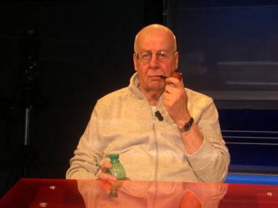 giub93s e1346359558108 As Roma, auguri della società al giornalista sportivo Gianfranco Giubilo per i suoi 80 anni