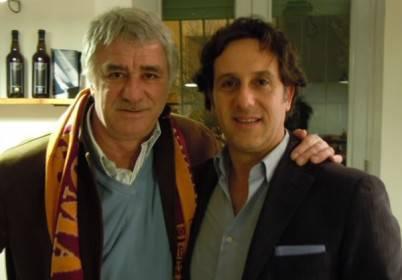 Aldo Maldera (sulla sinistra)