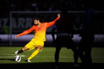 Il difensore del Barcellona, Piqué