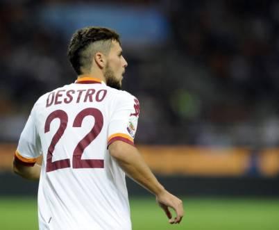 Inter Roma La Roma Raddoppia Ancora Mattia Destro