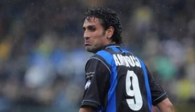 Nicola Amoruso, l' ex attaccante di Juventus, Torino e Atalanta