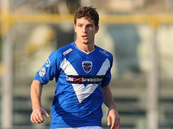 Gaetano Berardi quando giocava nel Brescia
