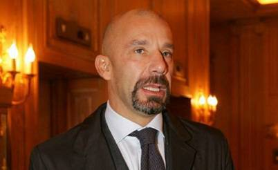 L'ex attaccante juventino Gianluca Vialli
