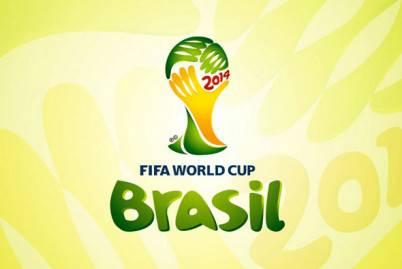 Logo dei mondiali di Brasile 2014