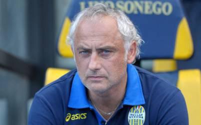 Andrea Mandorlini, tecnico dell' Hellas Verona