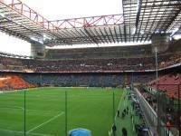 Lo stadio San Siro di Milano
