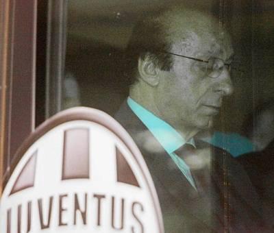 L'ex dg della Juventus Luciano Moggi (Getty Images)