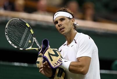 Il tennista spagnolo Rafael Nadal