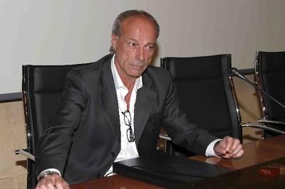 Il ds della Roma Walter Sabatini