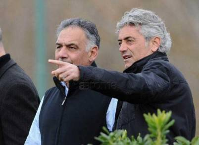 James Pallotta e Franco Baldini