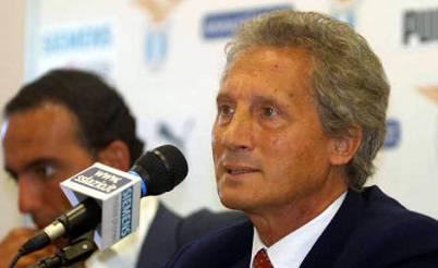 L'ex presidente della Lazio Sergio Cragnotti