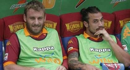 Daniele De Rossi e Pablo Daniel Osvaldo
