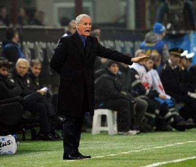 Il tecnico testaccino Claudio Ranieri (Getty Images)