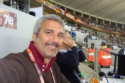 L'ex difensore giallorosso Ubaldo Righetti