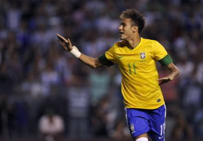 Neymar nel Brasile