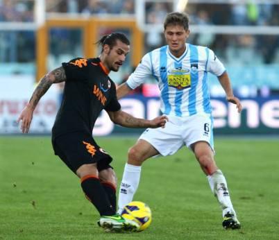 Pescara v AS Roma - Serie A