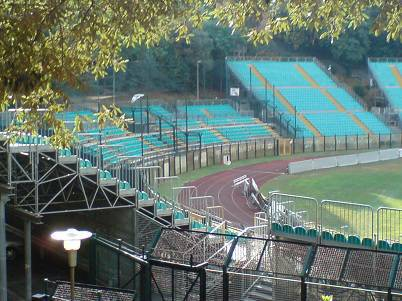 Lo stadio Artemio Franchi di Siena