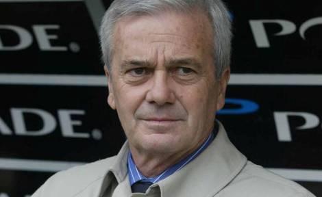 Il tecnico Gigi Simoni
