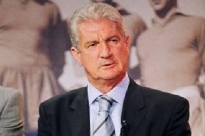 L'ex calciatore Angelo Benedicto Sormani