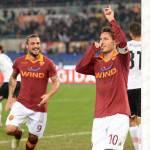 Roma-Palermo 4-1: dominio Roma, Palermo inesistente. Destro segna ma viene espulso.
