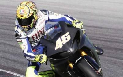 Rossi in Yamaha