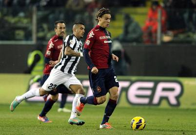 Un momento della gara tra Cagliari e Juventus (Getty Images)