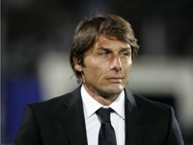 Il tecnico juventino Antonio Conte