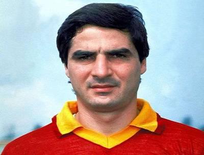 L'ex capitano giallorosso Agostino Di Bartolomei