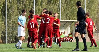 Un immagine del settore giovanile della Roma