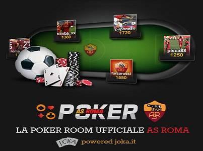 La nuova poker room della Roma