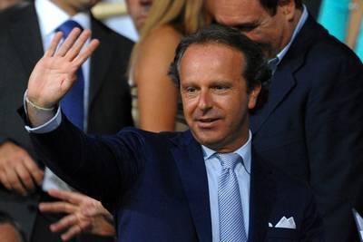 Il patron della Fiorentina Andrea Della Valle