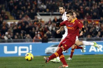 Erik Lamela, domani rientrarà in Coppa Italia dopo la squalifica