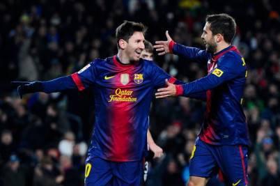 Lionel Messi autore di due reti