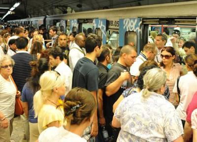 Caso in Metro a Roma