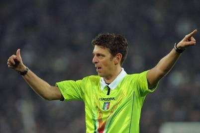 L'arbitro Gianluca Rocchi (Getty Images)