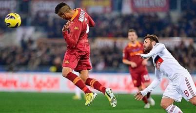 Marquinhos contro il Milan