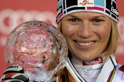 La sciatrice austriaca Marlies Schild (Getty Images)
