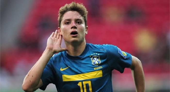 Il trequartista del Flamengo Adryan Oliveira Tavares