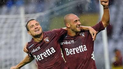 Matteo Brighi con la maglia del Torino