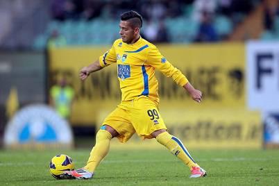 Gianluca Caprari con la maglia del Pescara (Getty Images)