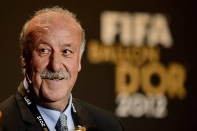 Il commissario tecnico della Spagna Vicente Del Bosque (Getty Images)