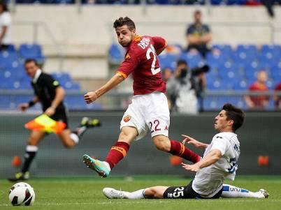 L'attaccante giallorosso Mattia Destro (Getty Images)