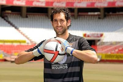 Il portiere spagnolo Diego Lopez