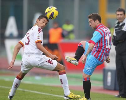 L'attaccante argentino del Catania Alejandro Darío Gómez (Getty Images)