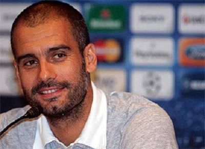 L'ex tecnico del Barcellona Pep Guardiola
