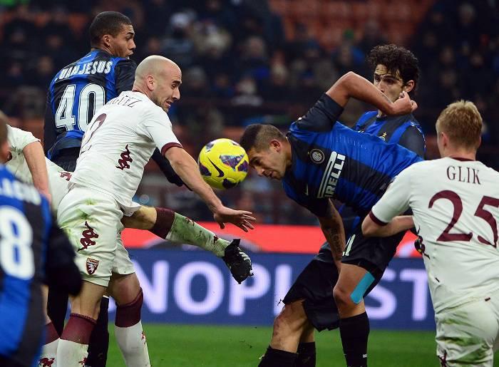 Un'immagine della gara tra Inter e Torino (Getty Images)