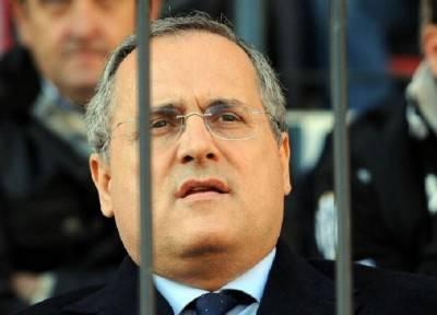 Il presidente della Lazio Claudio Lotito (Getty Images)