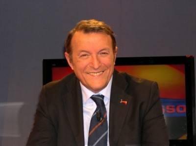 Il giornalista televisivo Massimo Ruggeri